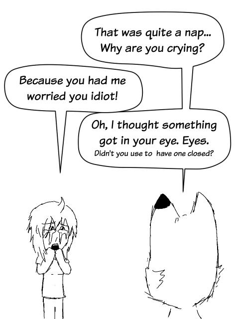 Crying?
